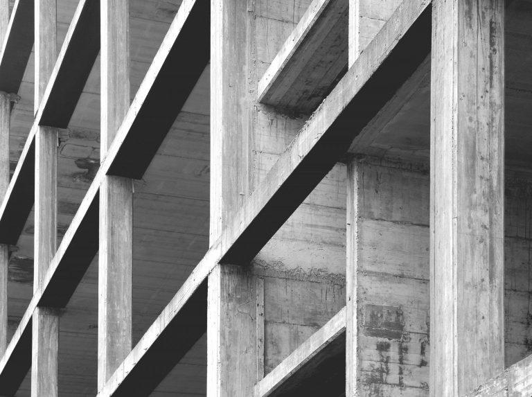 modern concrete structure